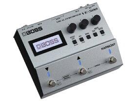 BOSS VE-500 新品 ギターボーカル[ボス][エフェクター,Effector][ボーカル用][ツインペダル]