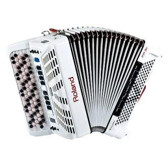 Roland FR-3Xb新貨白92按鈕V手風琴[樂蘭][FR3Xb][White,白][Accordion]
