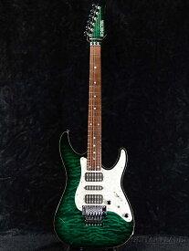 【中古】SCHECTER SD-DX-24 AS-See Thru Green/Rose-2011年製[シェクター][シースルーグリーン,緑][Stratocaster,ストラトキャスタータイプ][Electric Guitar,エレキギター]【used_エレキギター】