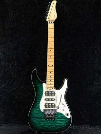 【中古】SCHECTER SD-DX-24 AS- See Thru Green/Maple-2012年製[シェクター][シースルーグリーン,緑][Stratocaster,ストラトキャスタータイプ][Electric Guitar,エレキギター]【used_エレキギター】