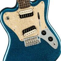 【数量限定モデル】SquierParanormalSuper-Sonic-BlueSparkle-新品ブルースパークル[Fender,スクワイヤー,フェンダー][パラノーマル,スーパーソニック][青][ElectricGuitar,エレキギター]
