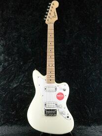 Squier Mini Jazzmaster HH -Olympic White- 新品 ミニギター[スクワイヤー][ホワイト,白][ジャズマスター][Guitar]
