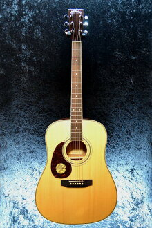 Stafford SF-250D-N Lefty新货天然[sutaffodo][LH,左撇子用][Natural,木纹,杢][Dreadnought,仿熊皮粗绒大衣呢][Mahogany,红木][Acoustic Guitar,吉他,Folk Guitar,民间吉他]