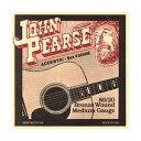 John Pearse 13-56 Bronze Medium 300M[ジョンピアース][ブロンズ弦][ミディアム][アコースティックギター弦,String]