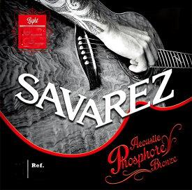 SAVAREZ Phosphor Bronze Extra Light A140XL 10-47[サバレス][フォスファーブロンズ弦][エクストラライト][アコースティックギター弦,String]