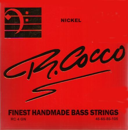 R.Cocco 45-105 RC 4GN NICKEL 4弦[リチャードココ][ニッケルラウンドワウンド][ベース弦,String]