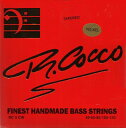 R.Cocco 45-130 RC 5CWN NICKEL(Tapered) 5弦[リチャードココ][ニッケルラウンドワウンド][テーパーコア弦][ベース弦,…