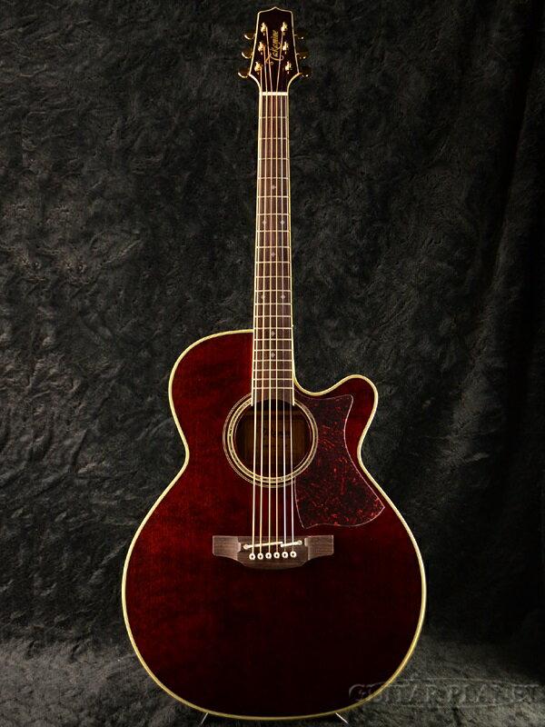 """【大原櫻子使用モデル】Takamine DMP551C WR with Contact Pickup 新品 Wine Red """"カノ嘘""""モデル[タカミネ][国産][ワインレッド,赤][Electric Acoustic Guitar,アコースティックギター,エレアコ]"""