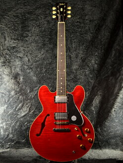 Tokai ES210 SR新货透明红[TOKAI,东海][国产][ES-210][semiako][Red][Electric Guitar,电子吉他][动画]