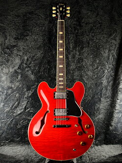 Tokai ES178 SR新货透明红[东海乐器,TOKAI][Cherry,Red,红][电子吉他,Electric Guitar][semiako][ES-335 ES-335型][ES-178][动画]