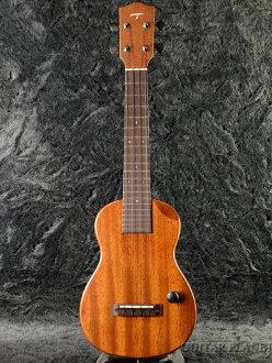 T 的夏威夷四弦琴 EC-100 音乐会夏威夷四弦琴全新红木 [t],[音乐会] [固体桃花心木] [电动夏威夷四弦琴,eleuk]