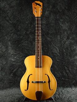 """Raven"" by J.Ravary Zander Tenor Ukulele new tenor ukulele [John LaValley, the arched top [Koa] core FISHMAN pickup mounted"