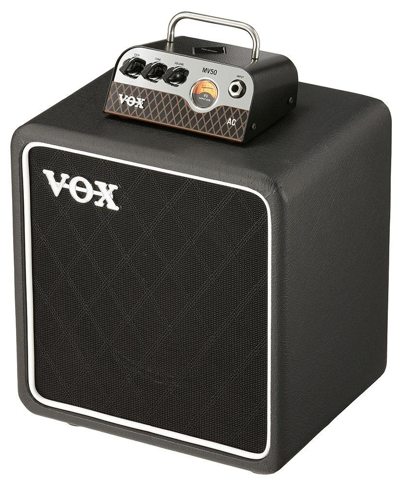VOX MV50 AC / BC108 SET 新品 Nutube搭載ヘッドアンプ/スタック[ヴォックス,ボックス][ニューチューブ][Guitar Amplifier Head,ギターアンプヘッド][Speaker Cabinet,スピーカーキャビネット][動画]
