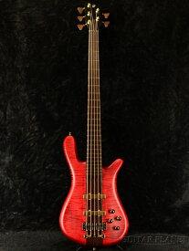 Warwick Custom Shop Basic Streamer Stage1 5st -Burgundy Red Satin High Polish- 新品[ワーウィック][ストリーマー][バーガンディ,レッド,赤][5Strings,5弦][Electric Bass,エレキベース]