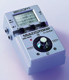 ZOOM MULTI STOMP MS-50G for Guitar 新品 マルチエフェクター [ズーム][マルチストンプ][Multi Effector][エレキギター用][MS50G]