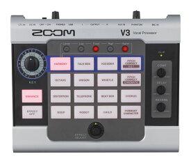 ZOOM V3 Volal Processor 新品[ズーム][ボーカルプロセッサー][エフェクター][ボイス、チェンジャー]