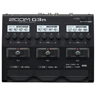 Zoom ZOOM G3n Multi-Effects Processor brand new Multi Effector, multivector [amp Simulator] [Effector and effector]