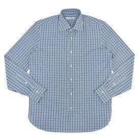 【40OFF】GUY ROVER(ギ ローバー)コットンマルチギンガムチェックワイドカラーシャツ 11142002027