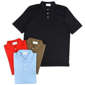 【60OFF】Settefili Cashmere(セッテフィーリ カシミア)コットン スムース 半袖 ポロシャツ