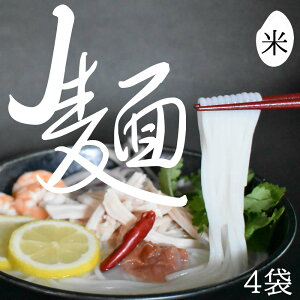 J麺230g(ドライタイプ) 4袋入り 国産米麺 乾麺 米粉 米? 国産 国産米 米粉麺 フォー うどん パスタ スパゲッティ ラーメン 焼きそば