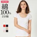 綿100% 2分袖インナー 婦人 GUNZE グンゼ the GUNZE ザグンゼ STANDARD 女性 レディース 肌着 Tシャツ 無地 年間シャツ CK2052N 東北a レディス 半袖 シンプ