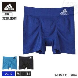 GUNZE(グンゼ) / adidas(アディダス) / ボクサーパンツ(前とじ)(メンズ) / APS080A / M〜LL