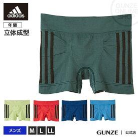 GUNZE(グンゼ) / adidas(アディダス) / ボクサーパンツ(前とじ)(メンズ) / APS080B / M〜LL