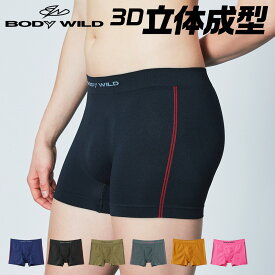 3D-Boxer ボクサーパンツ 前とじ 成型 3D メンズ GUNZE グンゼ BODY WILD ボディワイルド BWS852J M L LL 紳士 男性用 立体設計 ストレッチ スポーティ 年間 GUNZE11