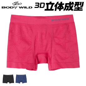 BODY WILD ボディワイルド 3D-Boxer ボクサーパンツ 前閉じ 下着 メンズ 年間 黒 ブルー ピンク GUNZE グンゼ 3D フィット ストレッチ M-LL BWS871J GUNZE11
