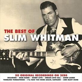 輸入盤 SLIM WHITMAN / BEST OF [2CD]
