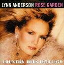 [CD]LYNN ANDERSON リン・アンダーソン/ROSE GARDEN : COUNTRY HITS 1970-1979【輸入盤】
