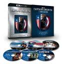 キャプテン・アメリカ:4K UHD 3ムービー・コレクション(数量限定) [Ultra HD Blu-ray]