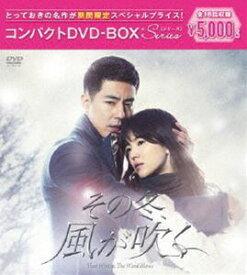 その冬、風が吹く コンパクトDVD-BOX[期間限定スペシャルプライス版] [DVD]