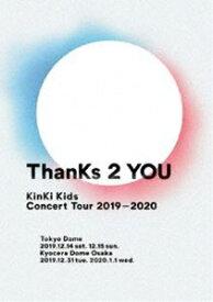 KinKi Kids Concert Tour 2019-2020 ThanKs 2 YOU(通常盤) [DVD]
