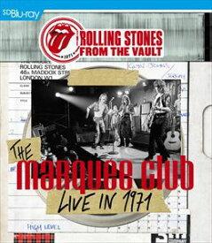 輸入盤 ROLLING STONES / FROM THE VAULT : THE MARQUEE CLUB LIVE IN 1971 [BLU-RAY+CD]