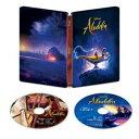 アラジン 4K UHD MovieNEX スチールブック(数量限定) [Ultra HD Blu-ray]