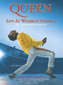 クイーン/ライヴ・アット・ウェンブリー・スタジアム<25周年記念デラックス・エディション>(限定盤) [DVD]