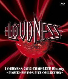 LOUDNESS/LOUDNESS 2012 Complete Blu-ray -LIMITED EDITTION LIVE COLLECTION- [Blu-ray]