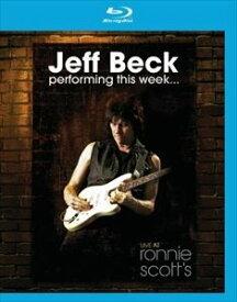 輸入盤 JEFF BECK / LIVE AT RONNIE SCOTT' [BLU-RAY]