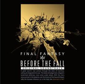 BEFORE THE FALL FINAL FANTASY XIV Original Soundtrack【映像付サントラ/Blu-ray Disc Music】 [ブルーレイ・オーディオ]