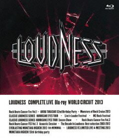 LOUDNESS/LOUDNESS COMPLETE LIVE Blu-ray WORLD CIRCUIT 2013 [Blu-ray]