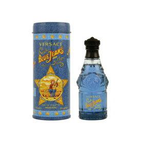 ヴェルサーチ ブルージーンズEDTSP (男性用香水) 75ml