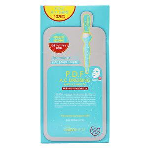 【正規輸入品】メディヒール P.D.F A.CドレッシングアンプルマスクEX (シートマスク) 10枚