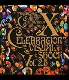 X/VISUAL SHOCK Vol.2.5 CELEBRATION [Blu-ray]