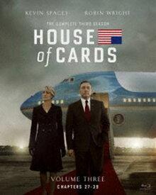 ハウス・オブ・カード 野望の階段 SEASON3 Blu-ray Complete Package(デヴィッド・フィンチャー完全監修パッケージ仕様) [Blu-ray]