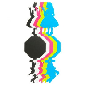 【ネコポス対応】Glass tags 不思議の国のアリス[M便 1/1]【A】【キャンセル・返品不可】
