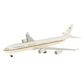 【ネコポス不可】Schuco Aviation A340-300 ドイツ政府専用機 BRD K.Adenauer 1/600スケール 403551666【A】【キャンセル・返品不可】