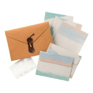 【ネコポス対応】Carry Letter レターセット BEACH PCL-03[M便 1/1]【A】【キャンセル・返品不可】