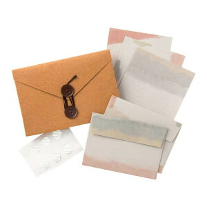 【クーポン&ポイント5倍 9/19 20:00〜9/24 1:59】【ネコポス対応】Carry Letter レターセット CITY PCL-04[M便 1/1]【A】【キャンセル・返品不可】