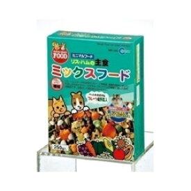 マルカン リス・ハムの主食ミックスフード (MR-546) 250g【ネコポス不可】